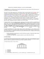 PROGETTO TURISMO TERMALE SALUTE E