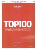TOP 100 Software e Servizi in italia