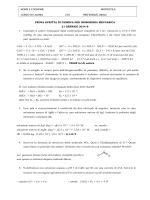 PROVA SCRITTA DI CHIMICA PER INGEGNERIA MECCANICA 21