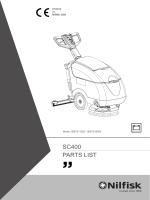SC400 PARTS LIST