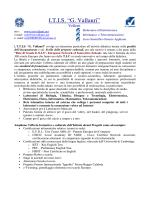 TFA - Portale ITIS G. Vallauri Velletri