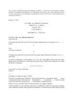 ADR Sentenza 2014.07.10 M.delegata Trib. Roma