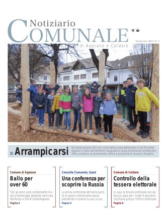 Arrampicarsi - Gemeindeblatt von Eppan und Kaltern