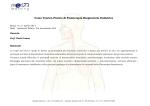 Corso Teorico-Pratico di Fisioterapia Respiratoria