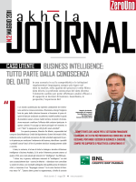 bUsINess INteLLIGeNCe: tUttO pARte dALLA
