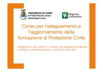 corso agg obb 4/5.10.2014