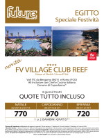 EGITTO FV VILLAGE CLUB REEF