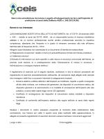 Documentazione da presentare per adeguamento