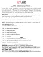 PROGRAMMA ECM - SCLEROSI MULTIPLA