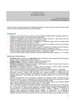 agg. maggio 2014 - Scienze della Formazione