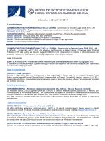 Informativa n. 29/14 - Ordine dei Dottori commercialisti di Genova