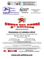 Domenica 12 ottobre 2014 www.ala-atletica.org