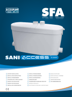 Saniaccess pump