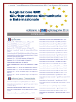 Notiziario n. 7-8 - luglio agosto 2014