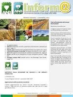 Anb Informa 38_4nov2014 - Associazione Nazionale Bieticoltori