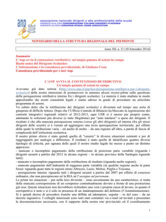 Anno XII, n. 51 (30 Settembre 2014)