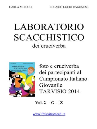 Cruciverba 2 - Società Scacchistica Torinese