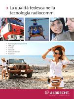 La qualità tedesca nella tecnologia radiocomm