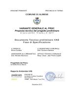 Documento tecnico preliminare VAS