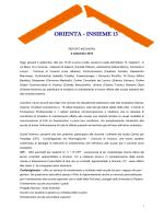 Report incontro OR_LAV 4 settembre 2014