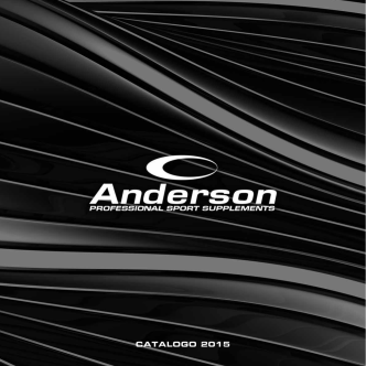 CATALOGO 2015 - Anderson Research