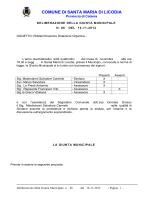 delibera GM 86 2013 - Comune di Santa Maria di Licodia