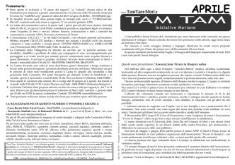 APRILE - Tam-tam