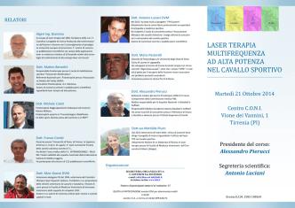 Brochure del convegno - Dott. Mario Pastorelli