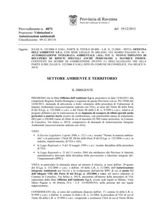 allegato n 2 - Verdi/Ecologisti Civici Bassa Romagna