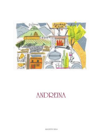 AGOSTO 2014 - Ristorante Andreina