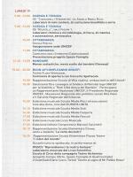 LUNEDÌ 19 9.00 -12.00 SCIENZA E TECNICA