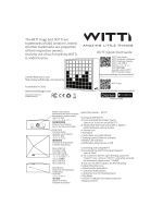 NOTTI Quick Start Guide The WITTI logo and NOTTI are trademarks