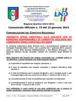 cu 72 2014-2015 - Comitato Regionale Campania