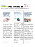 N°18 30 aprile 2014 - Confesercenti Umbria