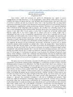 Il programma di Papa Francesco sulla centralità evangelica dei