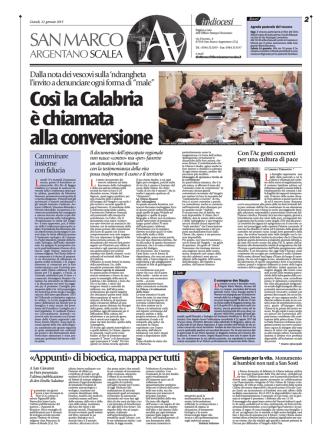 22/01/2015 - Diocesi San Marco