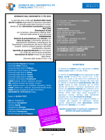 programma 2015 conegliano