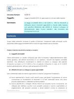 6/2015 Oggetto Sommario Contenuto