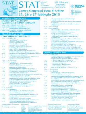 Centro Congressi Fiera di Udine 25, 26 e 27 febbraio 2015