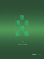 Linee Programmatiche 2015