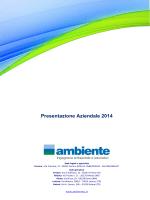 Presentazione Aziendale 2014