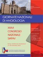 XXXVI Congresso Nazionale SIAPAV