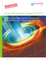 High Penetration Speed (HPS™)