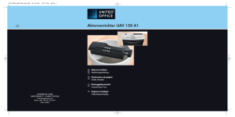 Aktenvernichter UAV 150 A1