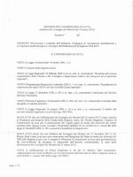 delibew del CUlIsiglio dei Ministri del 11 mllr:o 10/3