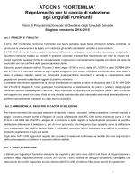 Regolamento caccia di selezione completo 2014-2015