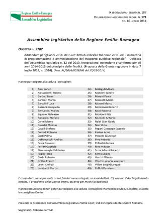 addendum atto di indirizzo 2014