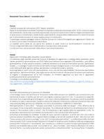 novembre 2014 - Università degli studi di Cagliari.