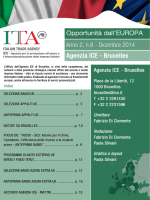 Newsletter Anno 2, n.8, Dicembre 2014