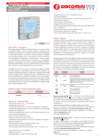 K492B Tastiera - Keypad Descrizione - Description